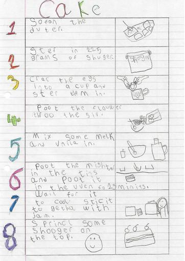 Freya's Instructions - Year 1