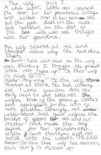..Amy's story continued (and the right way round!)