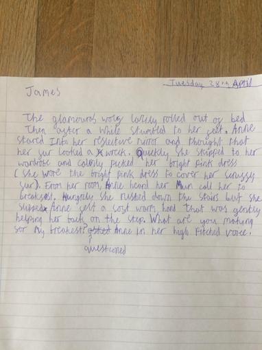 James, Year 5