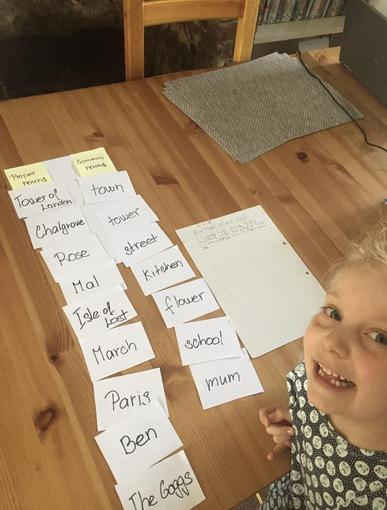 Bonnie's literacy