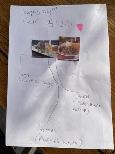 Fleur has also been researching a Burns Night meal. Yum!