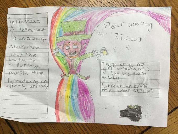 Fleur's colourful leprechaun fact file!