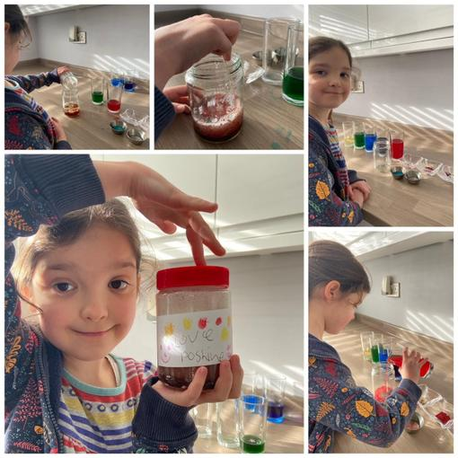 Isabelle has also created a wonderful love potion! Wow!
