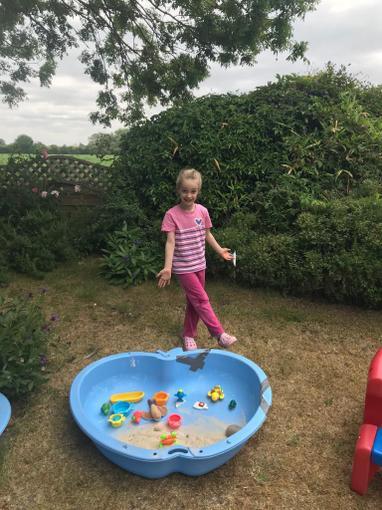 Niamh having fun!