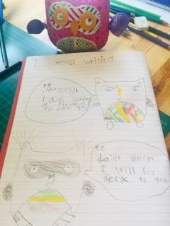 Martha's Writing - Year 1