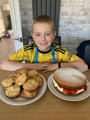 Charlie's delicious baking!