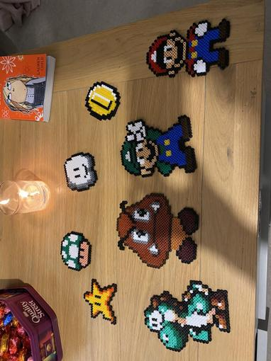 Molly G has made some wonderful Mario art over the weekend...which is your favourite?