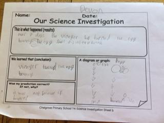 Devon's investigation work