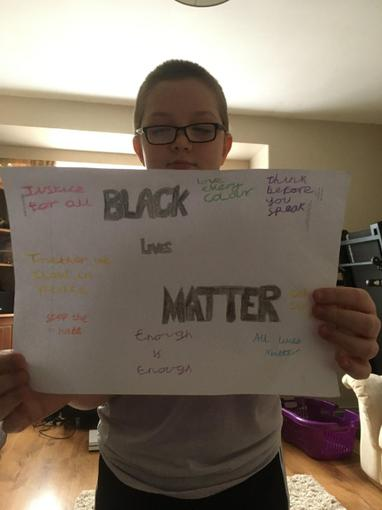 Ollie's fab BLM poster