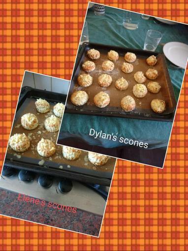 Dylan's wonderful scones...