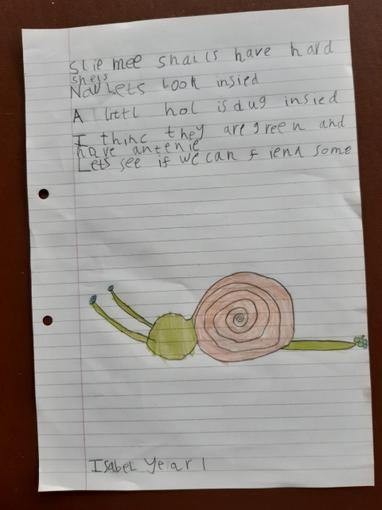Isabel's Writing