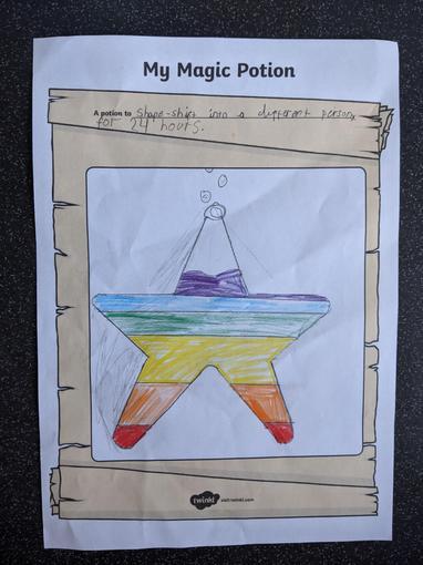 Lyssy's magic potion...