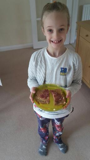 Niamh's yummy toast