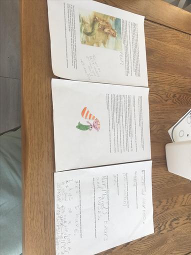 Fleur's literacy