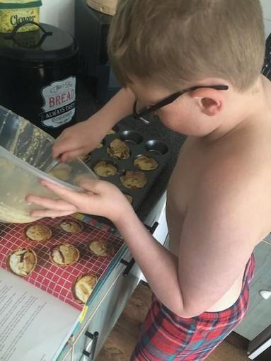 Josh baking
