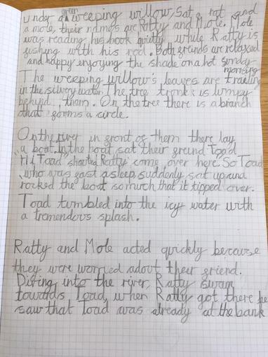 William's Writing - Year 3