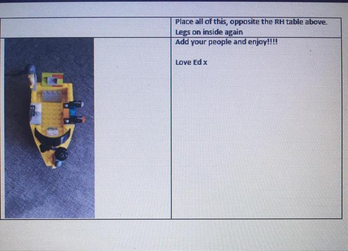 Ed's Lego Instructions 4 - Year 4