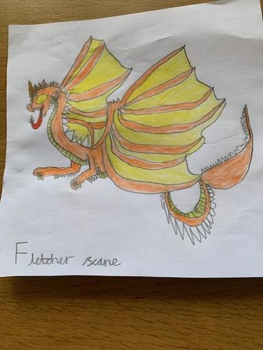 Fletcher's wonderful dragon
