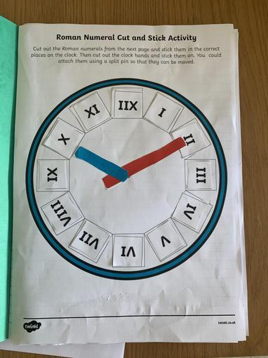 Charlie's Roman Numeral clock