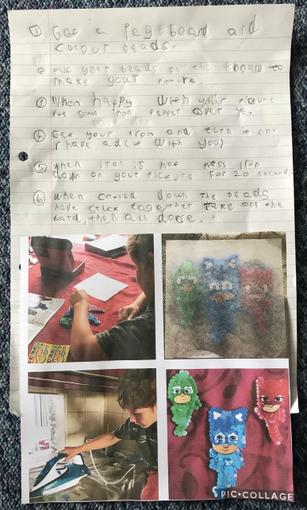 Ethan's Instructions - Year 1