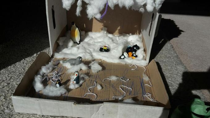 Niamh's Antarctic habitat