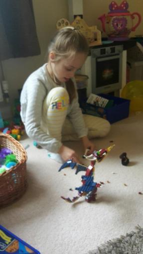 Niamh's Lego Dragon