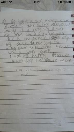 Niamh's writing - Year 2