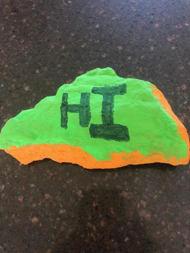 Fletcher's rock painting