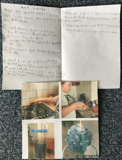 Tom's rock candy instructions