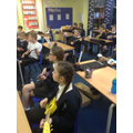 Year 6 Ukulele lessons take place each Thursday.