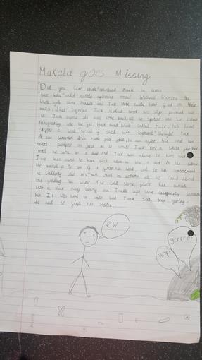 Emily's Writing - Year 3