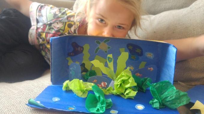Holly's ocean habitat