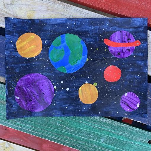 Wow! Fab space art Rhys!