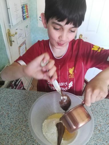 Jack's been busy baking for the Bake Off...