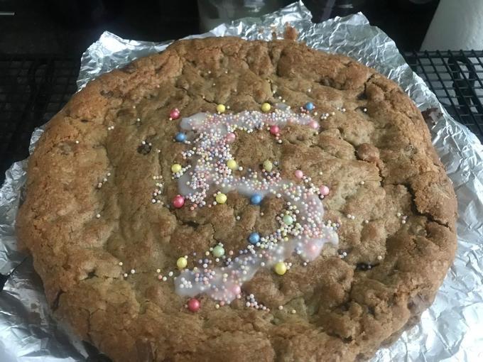 Alice's wonderful Y5 cookie!