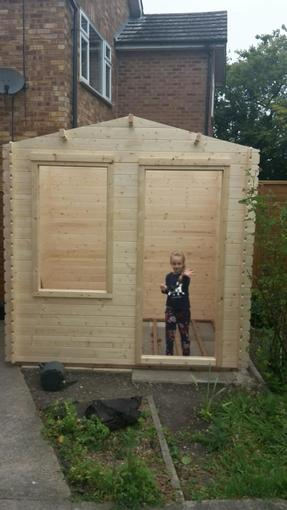 Niamh's shed!