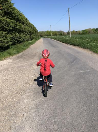 Ollie's cycling