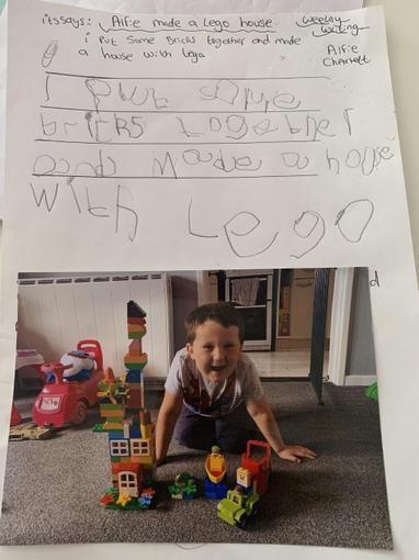 Alfie's Lego instructions