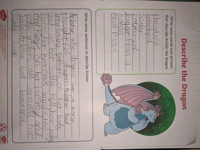 Part 1 of Lyssy's dragon fact file...