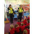 We looked at the different equipment police carry.