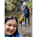 """1""""It's my mummy, me and my daddy in a forest. We were trying to find a waterfall."""""""