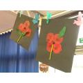 Year 1 Poppy Artwork