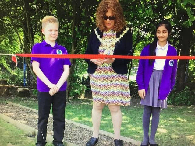 ~Our Mayor opening Forest Schools...