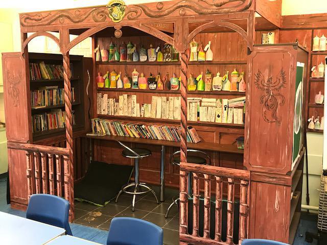 Harry Potter Potion laboratory Y5/6 Study Area