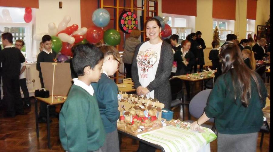 Christmas Fair 2015  - £1180 raised!