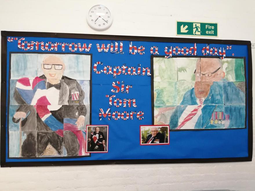 Captain Sir Tom Moore Artwork