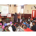 EYFS and Year 1 Assembly with Tamara Macfarlane