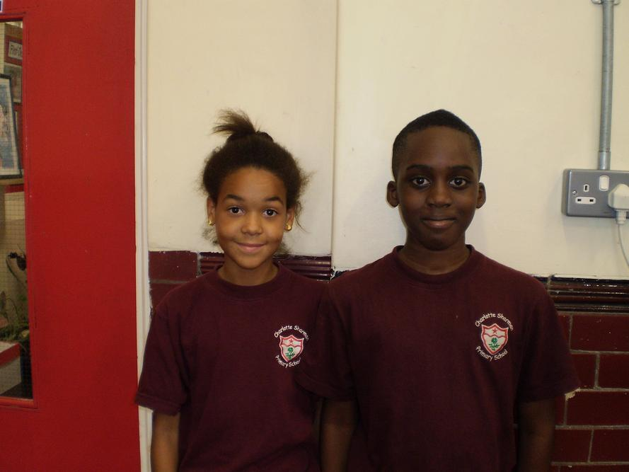 Deputy Head Girl and Boy