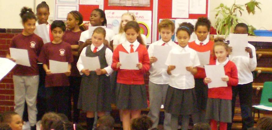 Charlotte Sharman School Choir