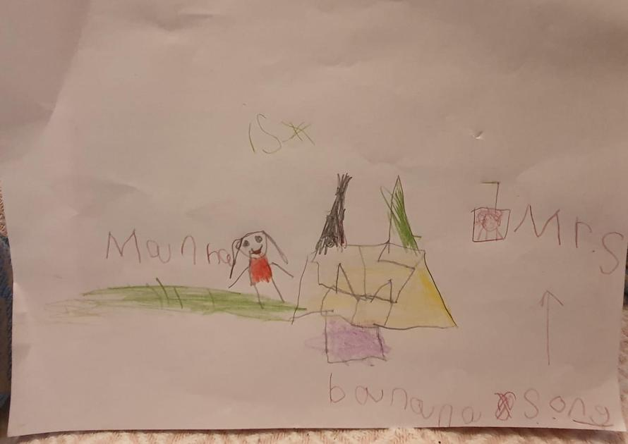 Manha's Art...Who is a banana?